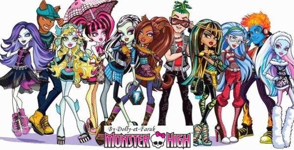Les l ves de monster high - Toutes les monster high ...
